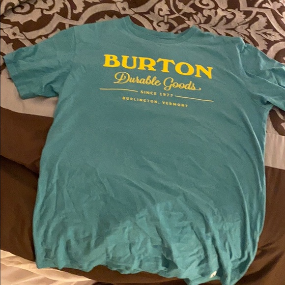 Burton cotton t shirt worn once!
